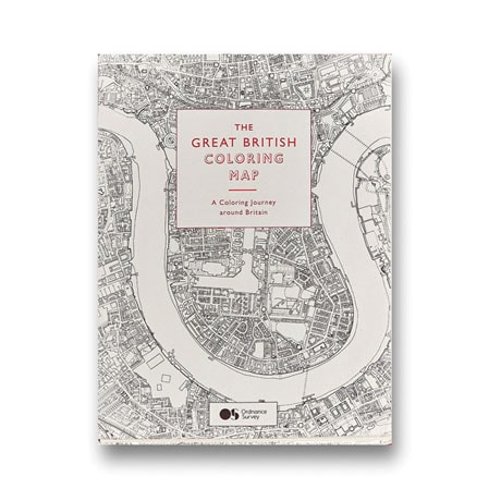 The Great British Coloring Map Book