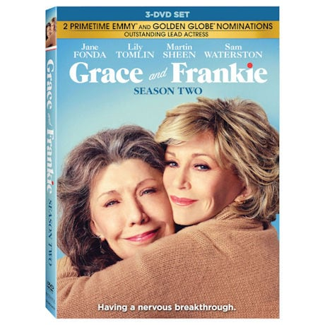 Grace & Frankie: Season 2 DVD