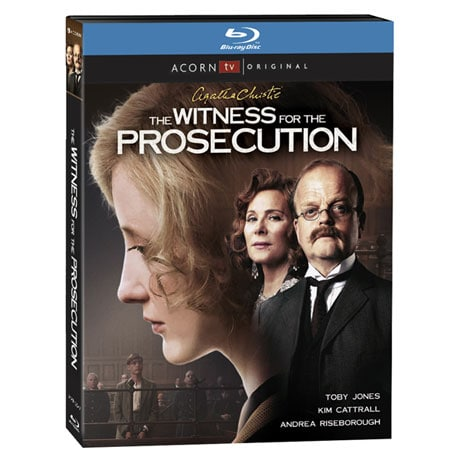 Agatha Christie's The Witness For the Prosecution DVD & Blu-ray