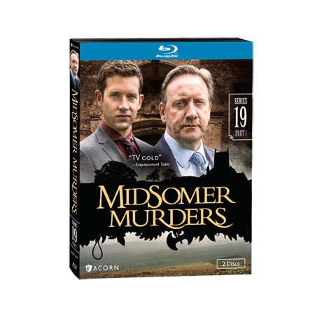 Midsomer Murders Series 19, part 1 DVD & Blu-ray