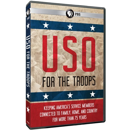 USO: For the Troops DVD