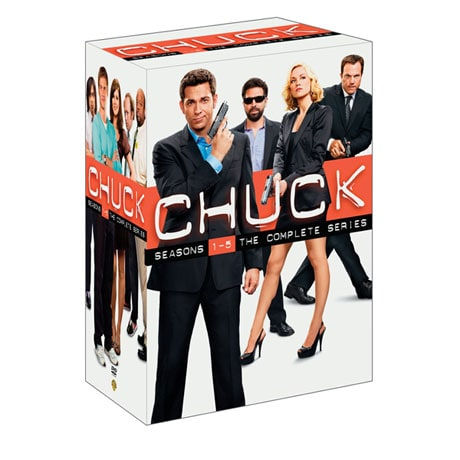 Chuck: The Complete Series DVD