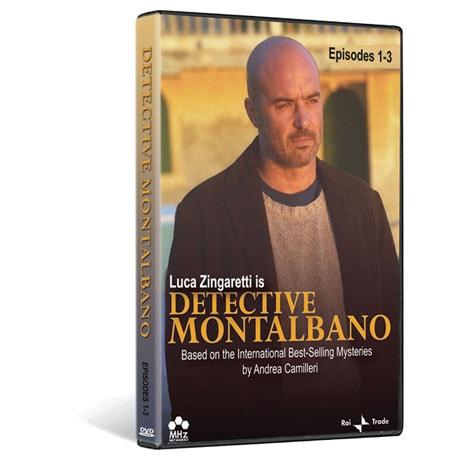 Detective Montalbano Episodes 1-3 DVD