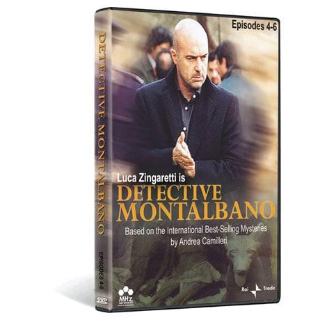 Detective Montalbano DVD: Episodes 4-6