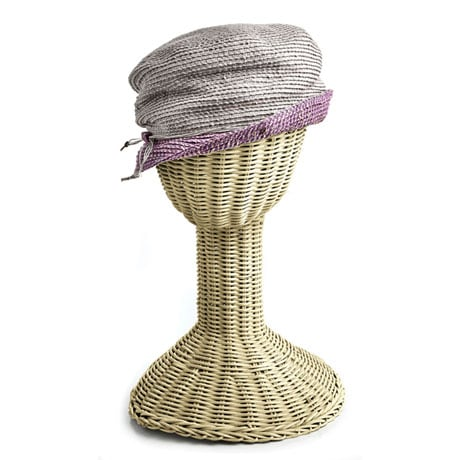 Slouchy Straw Cloche Hats