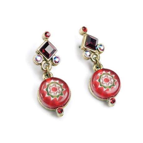 Millefiore Earrings