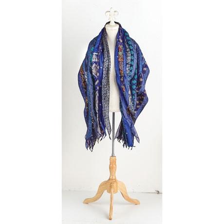 Recycled Saris Scarf