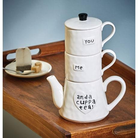 You, Me, and a Cuppa Tea Set