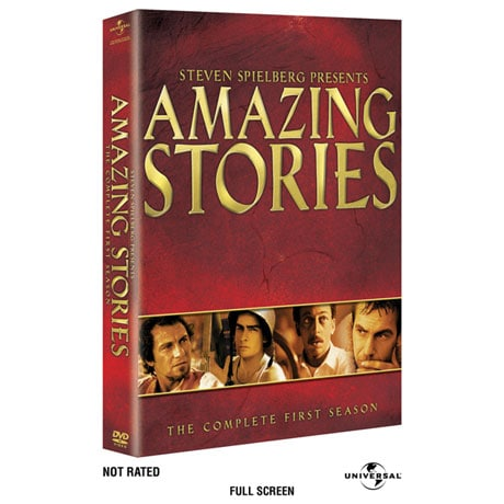 Steven Spielberg Presents Amazing Stories: The Complete First Season DVD