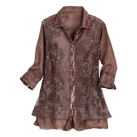 Lavish Lace Blouse