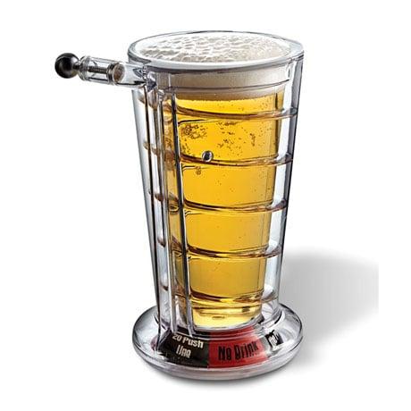 Pinball Pint Glass