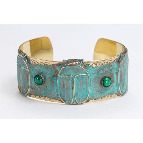 Scarab Cuff Bracelet