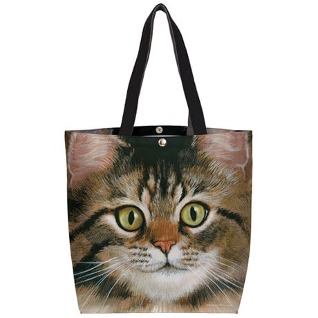 Cat Close-Ups Canvas Totes