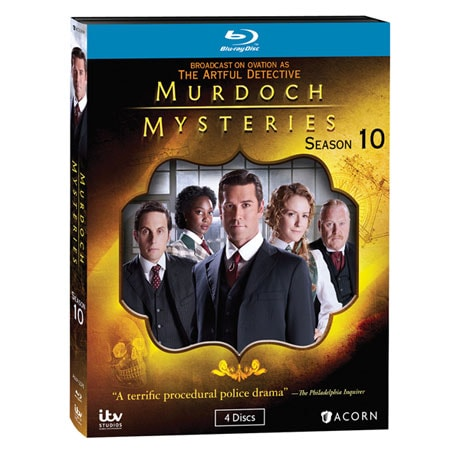 Murdoch Mysteries: Season 10 DVD & Blu-ray