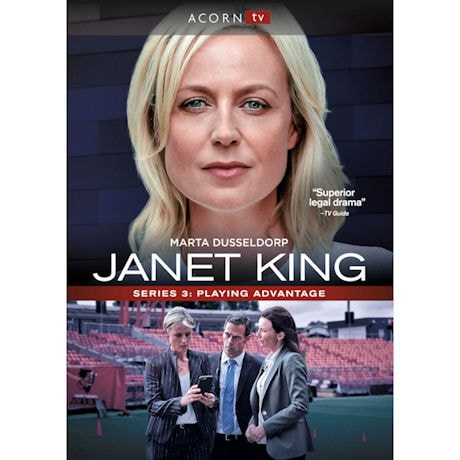Janet King: Series 3: Playing Advantage DVD