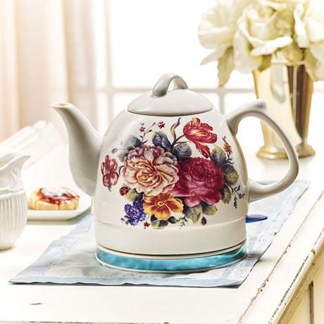English Garden Electric Teakettle