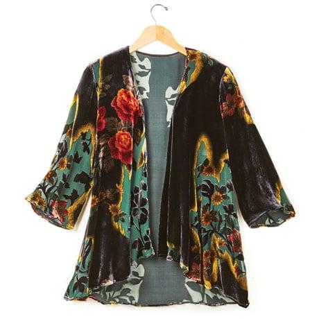 Victorian Garden Velvet Jacket