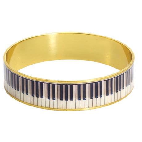 Piano Keys Bangle
