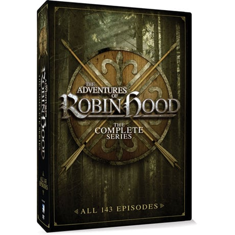 The Adventures of Robin Hood: The Complete Series DVD