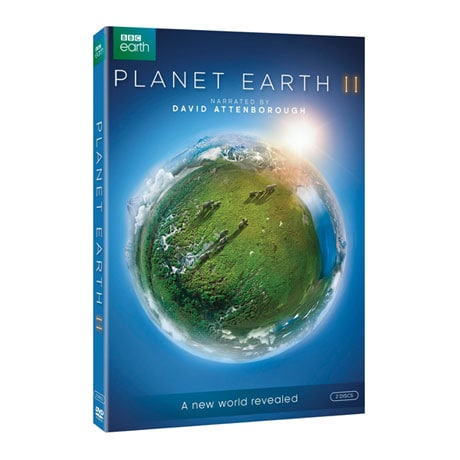 Planet Earth II DVD & Blu-ray
