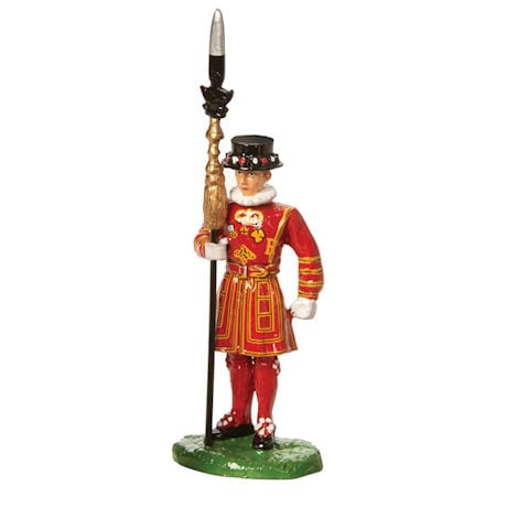 Iconic British Figures: British Bobby, Beefeater, and Bagpiper