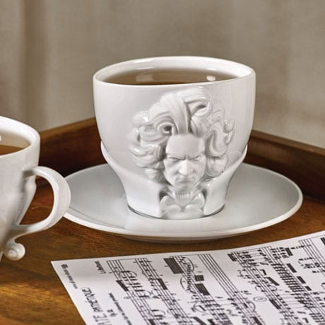 Beethoven Cup and Saucer
