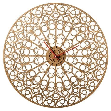 Notre Dame Rose Window Wall Clock