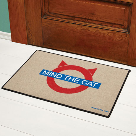 Mind the Cat Doormat