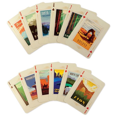National Parks 100th Anniversary Playing Cards