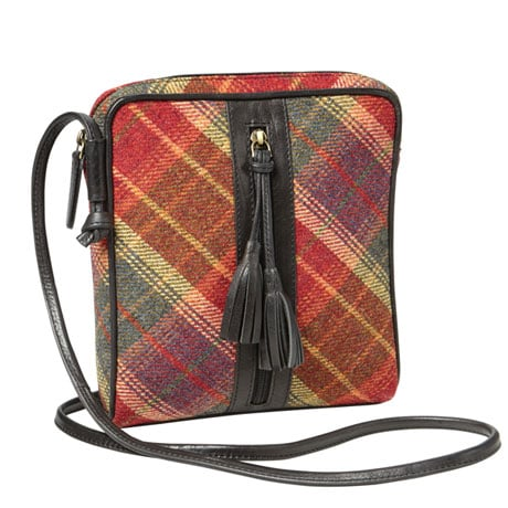Islay Tweed Crossbody Bag