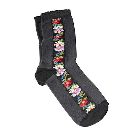 Nordic Floral Socks