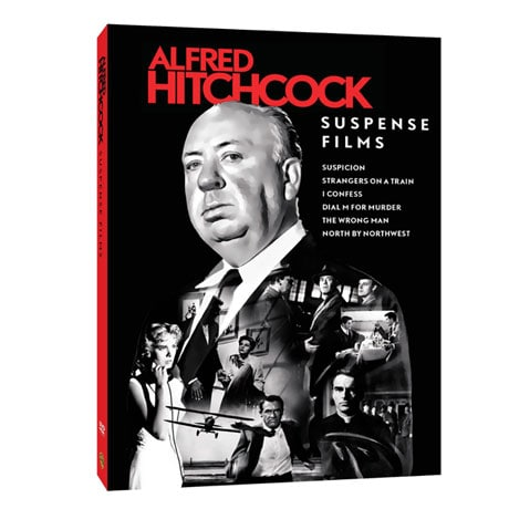 Alfred Hitchcock Suspense Films Collection DVD