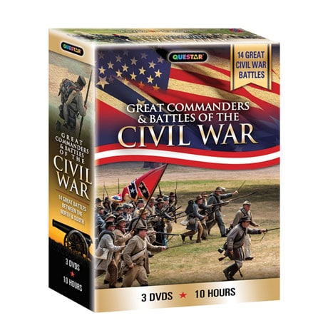Great Commanders & Battles of the Civil War DVD