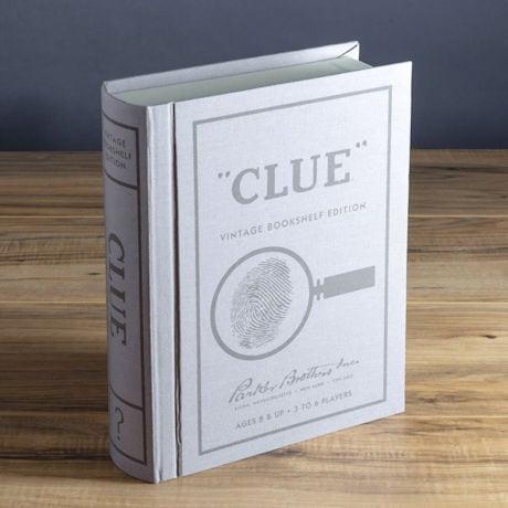 Vintage Bookshelf Board Games: Clue