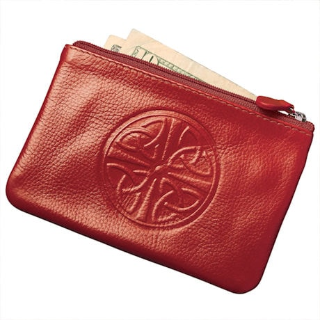 Celtic Leather Coin Purse