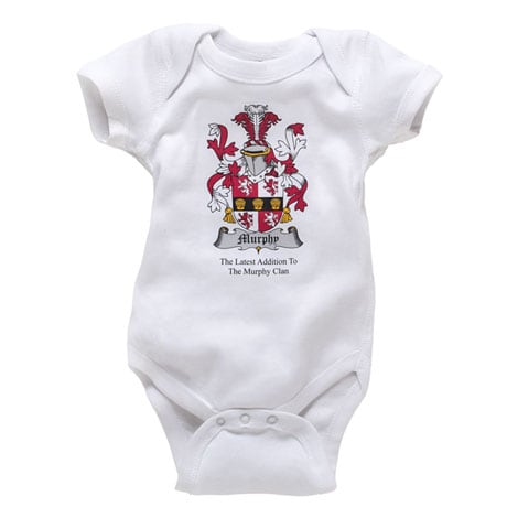Personalized Coat-of-Arms Snapsuit