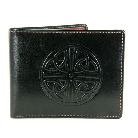 Men's Two-Tone Celtic Leather Wallet