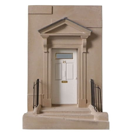 Jane Austen's Front Door in Bath