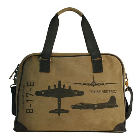WWII Flying Fortress Pilot's Bag