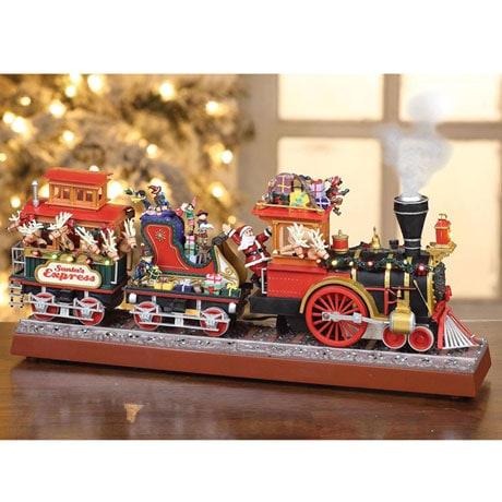 Santa's Express Animated Train