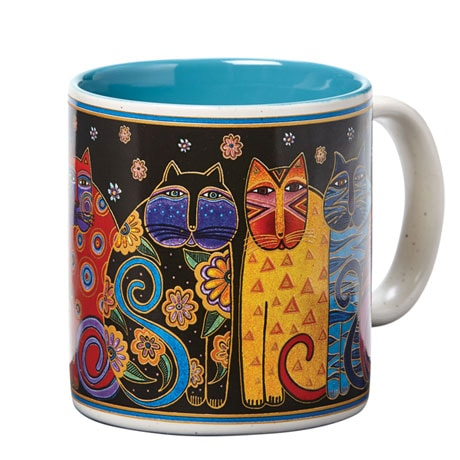 Laurel Burch Cat Mug