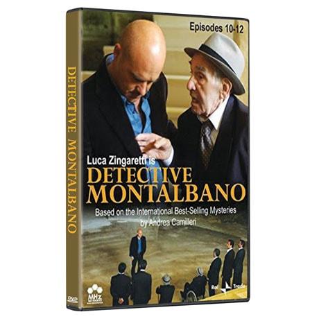 Detective Montalbano: Episodes 10-12 DVD