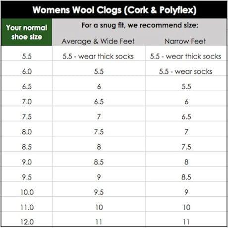 Women's Stegmann Original Felt Clogs