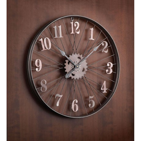 Bike Rim Wall Clock