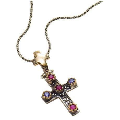 Turkish Ottoman Cross Pendant