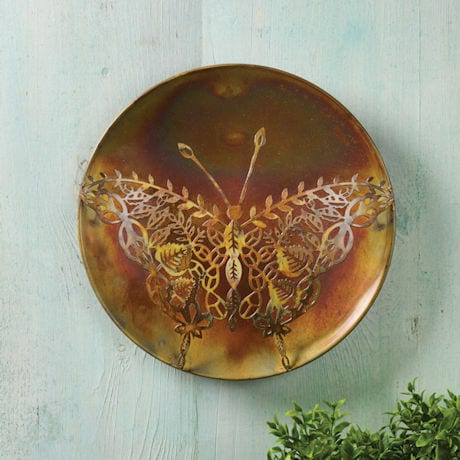 Metal Lace Butterfly Wall Décor