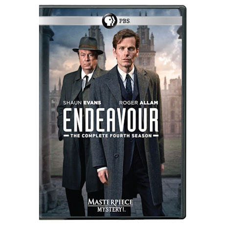 Endeavour: Season 4 (UK Edition) DVD & Blu-ray