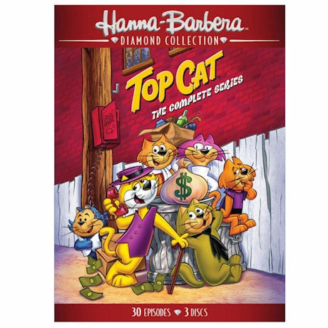 Top Cat: The Complete Series DVD