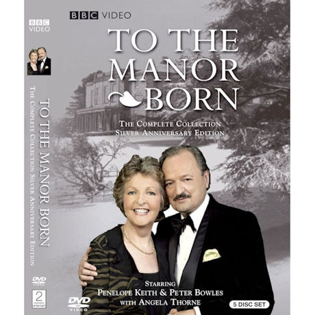 To the Manor Born: The Complete Series Silver Anniversary Edition DVD