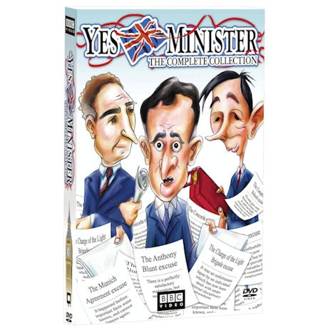 Yes, Minister: The Complete Collection DVD